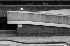 Earlstoke Estate (cybertect) Tags: carlzeissplanart50mmf17 clerkenwell ec1 earlstokeestate london londonboroughofislington londonec1 rhwl rentonhowardwoodlevin rentonhowardwoodlevinassociates sonya7ii architecture blackwhite blackandwhite building concrete housing monochrome ramp socialhousing