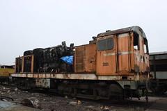 Class 20 being stripped for spares (372Paul) Tags: toddington broadway cheltenham hailes foremarkehall po kingedwardii 6023 5197 s160 7903 6430 pannier dmu cotswoldfestivalofsteam gloucestershirewarwickshirerailway steam locomotive class20 class26 shunter