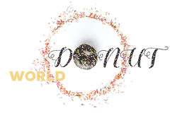 Donut World (Mahmoud Lashin) Tags: food commercial alexandria egypt studio indoor colours colourful donuts sweet