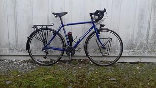 Hewitt Cheviot Touring Bike Flamboyant Blue (Large)