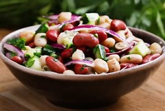Bean Salad (janetfo747 ~ Dreaming of Africa) Tags: food yum yummy yumoh tasty delicious super dinner lunch eat favorite colorful color snack eating dine bean salad