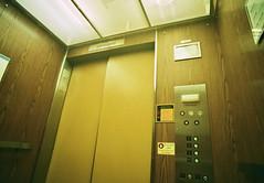 A known enemy (Jetcraftsofa) Tags: nikonf4 vivitar1938 c200 35mm slr filmphotography elevator memory doyourememberlove knownenemy comeasyouare