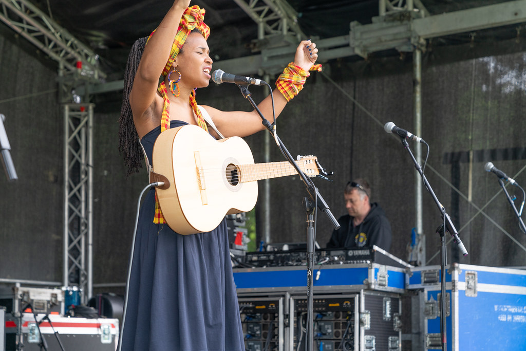 INES KHAI FROM GUADELOUPE [AFRICA DAY 2018 IN DUBLIN]-140492