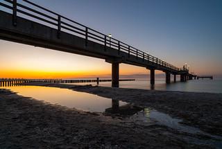 Sunset at the Baltic Sea - Zingst, Mecklenburg-Vorpommern