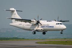 Airlinair (Air France) - ATR 42-500 F-GPYD @ Bristol (Shaun Grist) Tags: fgpyd af airfrance airlinair atr42 shaungrist brs eggd bristol bristolairport bristollulsgate airport aircraft aviation aeroplanes airline avgeek