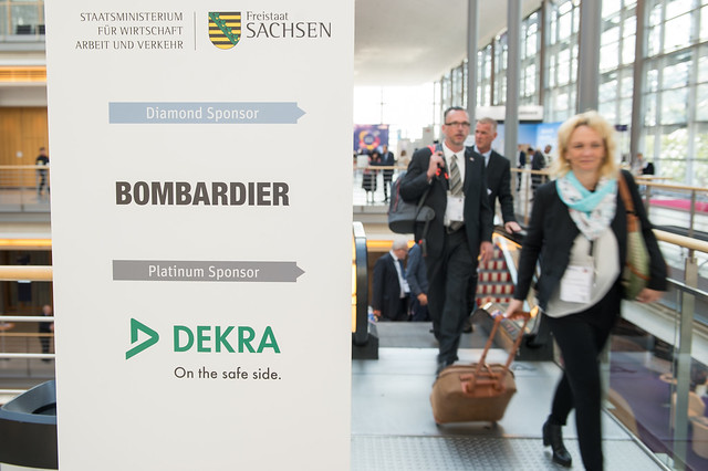 Sponsors Bombardier, DEKRA and Saxony