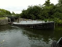 Thames Tug 'Glen Lee'. 04 09 2016 (pnb511) Tags: river lea lee water lock boat tug thames diesel power trees rural leevalley riverleenavigation