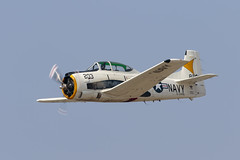 T-28 Trojan (Trent Bell) Tags: aircraft hanger24 airfest airshow redlands airport california 2018 t28 t28trojan