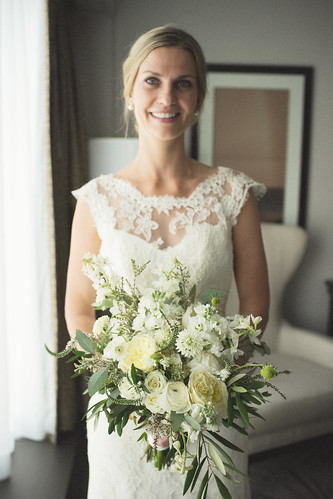 "Olive Branch, Ranunculus, & Veronica Bridal Bouquet • <a style=""font-size:0.8em;"" href=""http://www.flickr.com/photos/81396050@N06/42281355451/"" target=""_blank"">View on Flickr</a>"