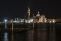 Basilica di San Giorgio Maggiore - Venezia (M-Gianca) Tags: venezia sony a6500 venice night city città