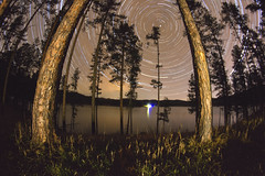 Star Trails (erikeichstadt) Tags: timelapseview timelapse black hills blackhills southdakota startrails stars