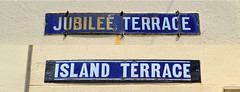 Salcombe Street Signs (R~P~M) Tags: enamel vitreousenamel sign name street blue salcombe devon england uk unitedkingdom greatbritain