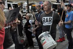bucket (greenelent) Tags: notrump protest demonstration riseandresist streets people activists nyc newyork