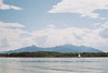 Gstadt am Chiemsee (Moesko Photography) Tags: analogue voigtländer landscape lake water germany alps sky clouds horizon boats mountain nature outdoor chiemsee gstadt summer afternoon
