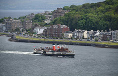 PS Waverley arriving in Rothesay (Russardo) Tags: scotland unitedkingdom rothesay ps waverley paddle steamer ship boat isle bute argyll