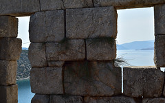 Masonry 10 (orientalizing) Tags: 4thcenturybc archaeologicalsite archaia architecture boiotia desktop featured fortification greece lateclassical siphai tower walls