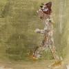 Le Terrien... (woltarise) Tags: gesso tissu papier pastelsgras mixmedia collage 2000