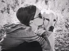 Pet therapy (gingydb) Tags: dog blackwhite blackandwhite monocromo pettherapy nikon nikonflickraward nikonflickrgoldaward nikond5500
