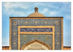 Bukhara UZ - Naqshbandi-Komplex 03 (Daniel Mennerich) Tags: silk road uzbekistan bukhara history architecture naqshbandikomplex