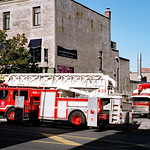 Flashback to 2005: Montreal Fire ladder engine thumbnail