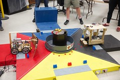MCHE 201 Preliminary Contest - Spring 2018 - 10 (CRAWLAB) Tags: clrougeouhall mche201 preliminarycontest robotics teaching ul ullafayette universityoflouisianaatlafayette