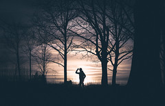 The Silhouette (Tim RT) Tags: tim rt reutlingen silhouette sunset sun people man stranger me trees yello cloud sky nature light outdoor visual inspired hypebeast color flickr sony a7 a7ii ilce7me ilce pose fe50mmf18 50mm prime lens chep photography