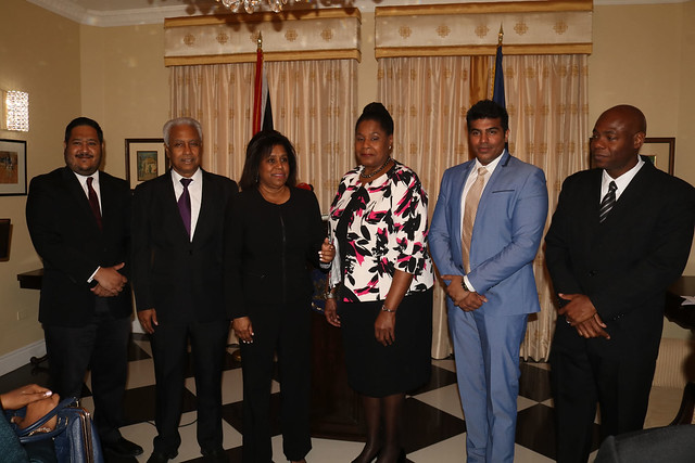 Her Excellency Paula-Mae Weekes President of the Republic of Trinidad and Tobago Swore-In the Fair Trading Commission And the Chairman of the Equal Opportunity Tribunal