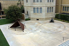 """Traces of Richard Serra's """"Sequence"""" (JB by the Sea) Tags: paloalto stanforduniversity stanford california march2018 cantorcenterforvisualarts publicart richardserra sequence"""