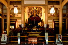 Buddha Statue of Engakuji Temple, Kamakura : 宝冠釈迦如来坐像(北鎌倉・円覚寺) (Dakiny) Tags: 2018 spring april japan kanagawa kamakura kitakamakura city street temple buddha statue d750 nikonclubit 日本 神奈川 鎌倉