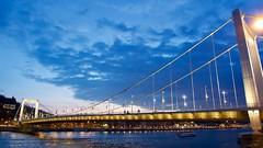Budapest Sunset (pngrdm) Tags: budapest hungary elisabeth bridge sunset duna danube sony a6000 milc