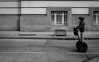 Wien segway kid