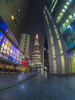 In the Glow of the Night (Wizard CG) Tags: more place london shard bridge ngc world trekker micro four thirds 43 m43 olympus long exposure architecture hall city by night cityscape england glass hdr high dynamic range light lights lines modern building old path uk united kingdom window people road