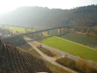 Eisenbahnbrücke bei Ediger-Eller