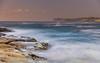 Sunrise Seascape (Merrillie) Tags: daybreak sunrise spoonbay nature australia surf wamberal centralcoast newsouthwales waves earlymorning nsw morning beach ocean sea landscape sky coastal waterscape outdoors seascape water coast dawn seaside