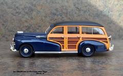 1942 Oldsmobile Series 68 Wood-Bodied Station Wagon (JCarnutz) Tags: 143scale diecast whitemetal brooklin 1942 oldsmobile series68 woodbodied