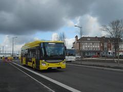 Iveco Urbanway 12 GNC n° 455 (Busreims51) Tags: agora s dkbus