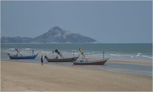 DSC_5094.Fishing boats, Hua Hin