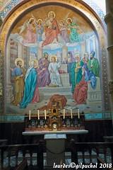 Lourdes 092-A (José María Gil Puchol) Tags: aquitaine autel basilique catholique cathédrale eau eaumiraculeuse fidèle france josémariagilpuchol lourdes messe paysbasque pélèrinage religion