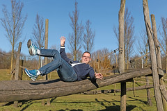 12/52 Noorderpark (Meteorry) Tags: europe nederland netherlands holland paysbas noordholland amsterdam noord nord north noorderpark park parc man homme guy male fun smile 52weeks 52semaines selfie selfportrait autoportrait me moi perrytak sneakers baskets trainers skets nike nikeairmaxclassicsbw classics cho7 whitesocks playground jardinenfants spring printemps march 2018 meteorry