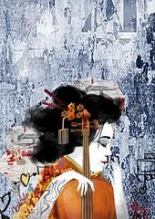 Gueixa In Concert (Alegraziani Produto Ilustrado (11) 96175.8787) Tags: gueixa inconcert cartaz poster gallery artgallery musica music japan artistabrasileiro artbrasil