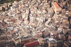Sicily: The Village of Caltabellota II. (icarium.imagery) Tags: agrigento caltabellota canoneos5dmarkiv hillside italia italy landscape rural sicilia sicily sigma24105mmf4dgoshsmart travel triocala village sundaylights from above