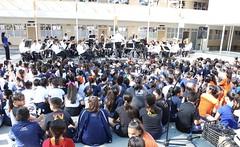 Banda de música del isc en colegio Larrea 2018 (ISCSonora) Tags: