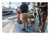people and phones (philippe*) Tags: manhattanbeach people street losangeles california urban