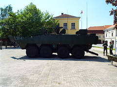 Croatian Military (sean and nina) Tags: army military armed forces eu europe european nato petrinja croatia croatian hrvatska green soldiers vehicles display exhibition recruitment main square town may spring 2018 public candid open street weapons personnel guns tanks armour armoured carriers outdoor outside apc mortars rounds ammunition khaki jeep machine gun automatic gpmg