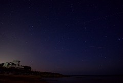 Steephill Cove (Sarah Marston) Tags: isleofwight steephillcove stars lighthouse cove bay night ventnor sony a77 may 2018