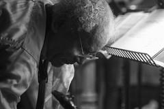 Anthony Braxton ZIM Music Sextet at Cafe OTO (Dawid Laskowski) Tags: black gig live music musician nikon photography show stage london dalston cafeoto anthonybraxton zimmusicsextet cafe oto anthonybraxtonzimmusicsextet jazz saxophones cornet brass taylorhobynum adammatlock tuba jacquelinekerrod miriamoverlach harps danpeck freejazz