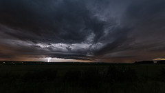 Orage #2 (Arnaud_S) Tags: clouds sky storm thunder lighting bolt rain landscape night