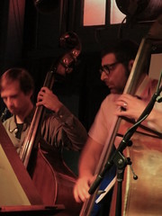 Max Judelson and Safa Shokrai (michaelz1) Tags: livemusic ivyroom albany improvhootenanny lifesbloodensemble safashokrai maxjudelson