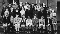 Class photo (theirhistory) Tags: children kids boys girls form group schoolphoto jumper trousers shoes wellies rubberboots tie