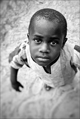 IMG_39516-1A-N&B1E (Balilaï) Tags: afrique africa casamance cachouane kachouane cachiouane balilaï sénégal portrait noiretblanc nb enfant